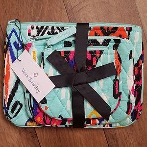 Vera Bradley Cosmetic Trio Pueblo 3 Makeup Bags